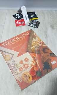 Stencilling book