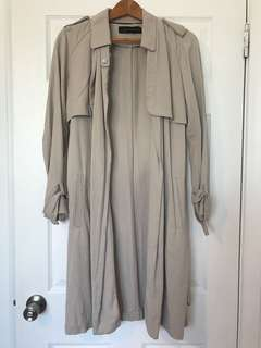 Zara Trench Coat Size XS