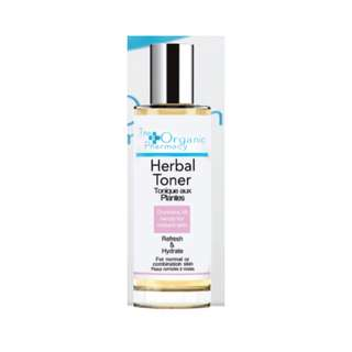 英國代購The Organic Pharmacy Herbal Toner 18草本有機爽膚水100ml