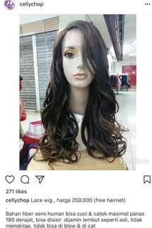 Lace wig cantik