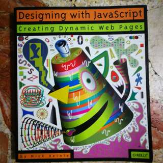 Designing with Javascript by Nick Heinle