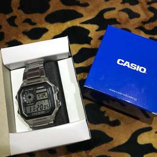 Casio Silver Watch