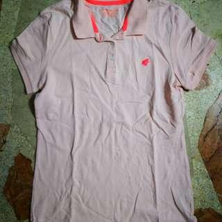 Giordano Baby Pink Polo Shirt