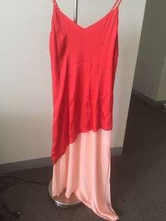 Bardot Makayla Spliced Slip Dress