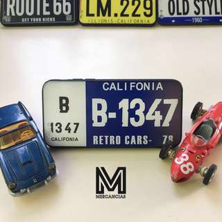 Califonia License Plate Phone Case