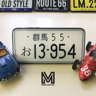 Japanese License Plate Phone Case