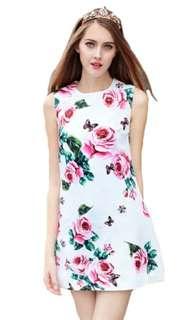 High Quality Designer Floral Dress