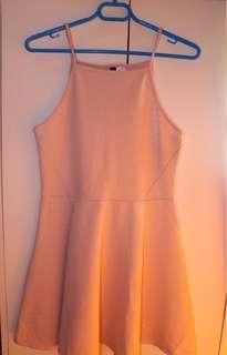 H&M Pink Halter Dress