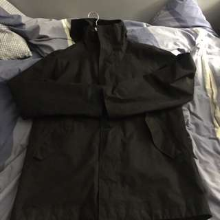 The north face parka shell