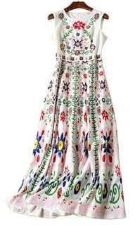 High Quality Designer Maxi Dress