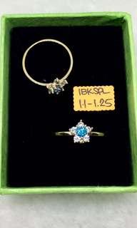 18K Saudi Gold ring