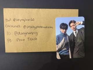Monsta X Minhyuk & Hyungwon Photocard