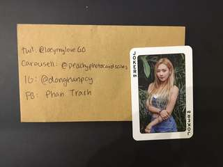 KARD Somin Hola Hola Photocard