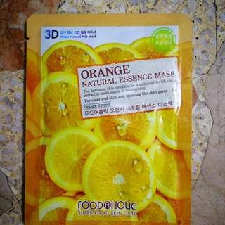 Foodaholic Orange Natural Essence Mask