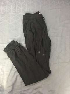 Ardene army green pants
