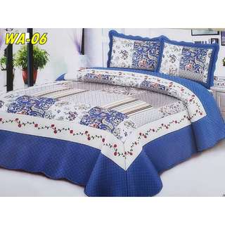 Patchwork high quality single bed