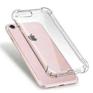 🚚 Iphone 8plus 7plus 四角加強防摔氣囊空壓殼 手機殼 全包軟殼 全透明 5.5吋 蘋果