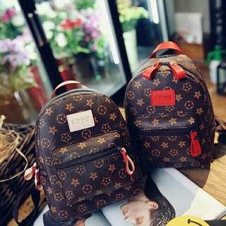 LV design Korean Backpack