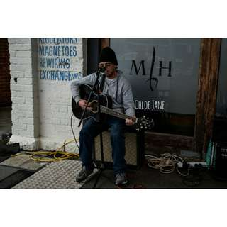 Digital Download: Busking Photography Print