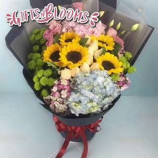 Flower Bouquet∕Hand Bouquet∕Birthday Bouquet∕Anniversary Bouquet∕Proposal Bouquet  - 7F2D9     76