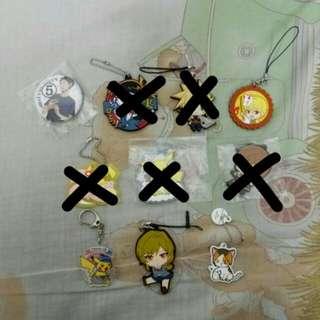 Anime Keychains Clearance