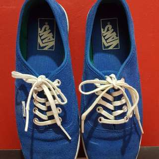 Vans - Suede Blue