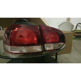 Volkswagen Golf MK6 Tail Lights OEM (Non LED)