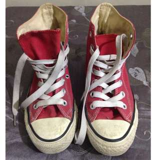 Converse All Star - Red - size 5.5