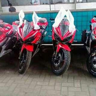 New Honda CBR 150 red