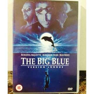 DVD The Big Blue [Version Longue 1988] - Rare collectible film by Luc Besson (Amazing Soundtrack by Eric Serra)