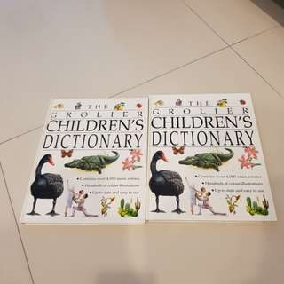 THE GROLIER'S CHILDREN DICTIONARY