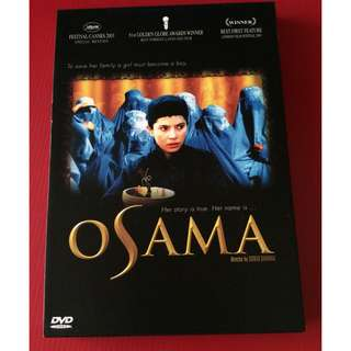 DVD Osama (Persian: اسامه ) - Golden Globe Award for Best Foreign Language Film (A truly Magnificent Film) (Original Code 3)