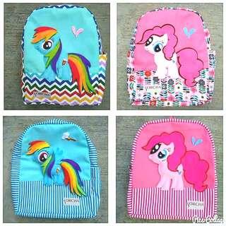 Super cute My Little Pony backpacks for kids #kidsbag #schoolbag #cutebag #littlepony #handmade #unique