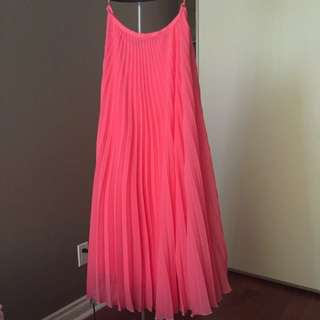 *Reduced* Mango Maxi Pleated Skirt