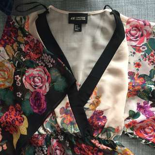 *Reduced* HM Conscious Collection Floral Blouse