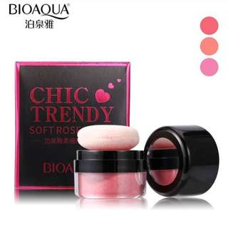Blush on tabur