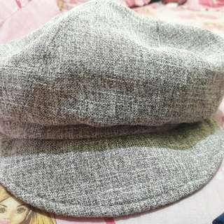 Preloved Topi Abu2 Fashion Import Korea Dewasa