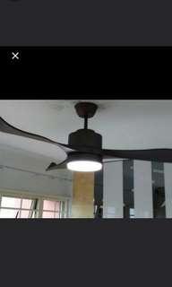 Fanco E Trinity Ceiling Fan With Light