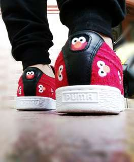 Puma sesame red suede original