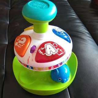 Bright star spinning toys