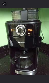 Philips Coffee Machine with Grinder