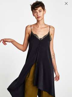 BNWT Long camisole top