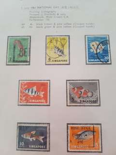 Singapore Stamps National Day 1961 Collection