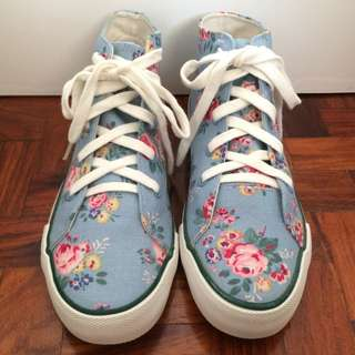 Cath Kidston Authentic High Cut Sneakers