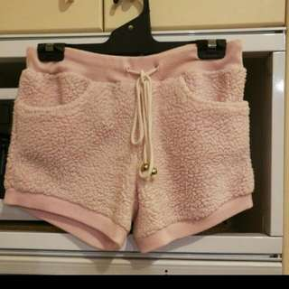 Fluffy Pink shorts