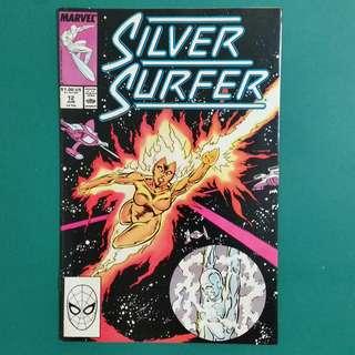 Silver Surfer No.12 comic