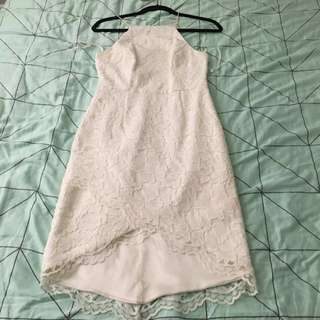 White Lace Dress Size 8