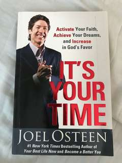 Joel Osteen It's Your Time now!