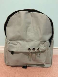 Canvas ring backpack