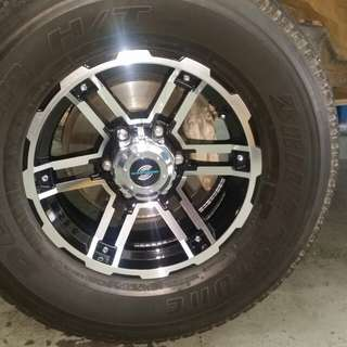 Offroad Rims for Toyota Fortuner
